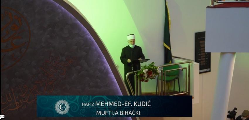Bajramska hutba muftije bihaćkog hafiza Mehmed-ef. Kudića (24.5.2020.)