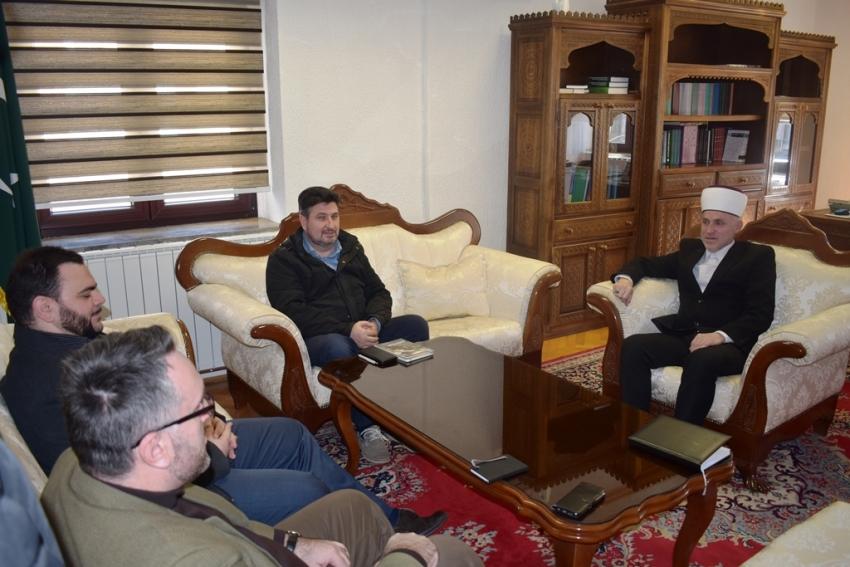 Sastanak muftije Kudića sa predstavnicima Odjela za saradnju sa nevladinim organizacijama