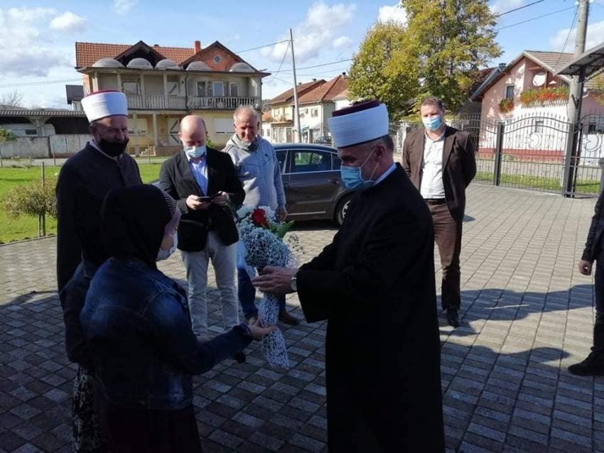 Muftija bihaćki u posjeti Medžlisu IZ Bosanska Kostajnica