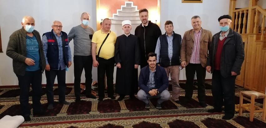 Muftija Kudić u ramazanskoj posjeti Medžlisu IZ Bosanski Novi