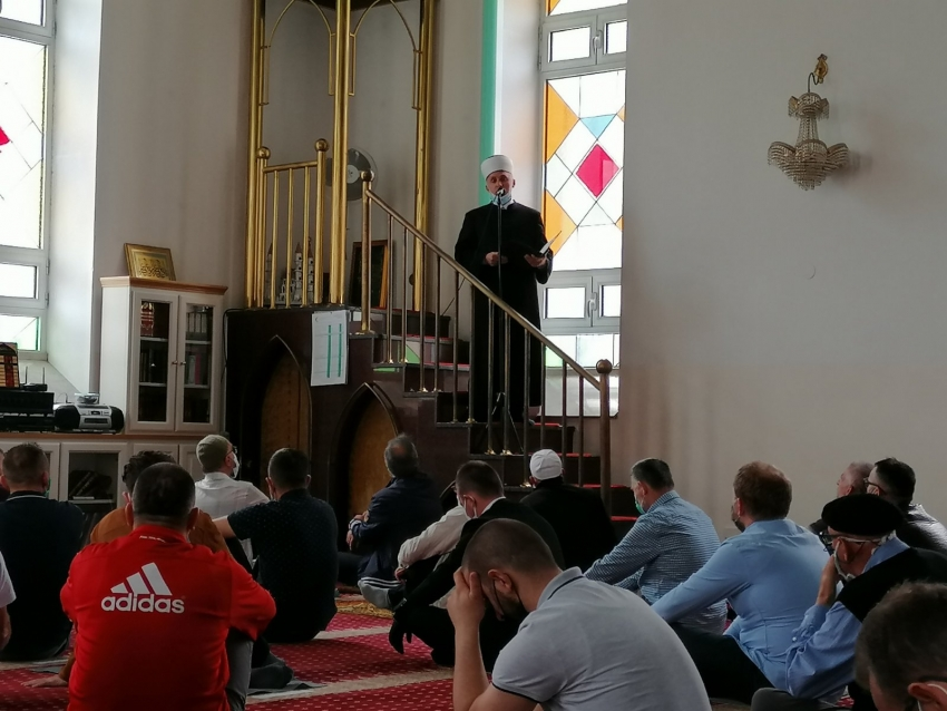 Muftija bihaćki u ramazanskoj posjeti Bosanskoj Krupi