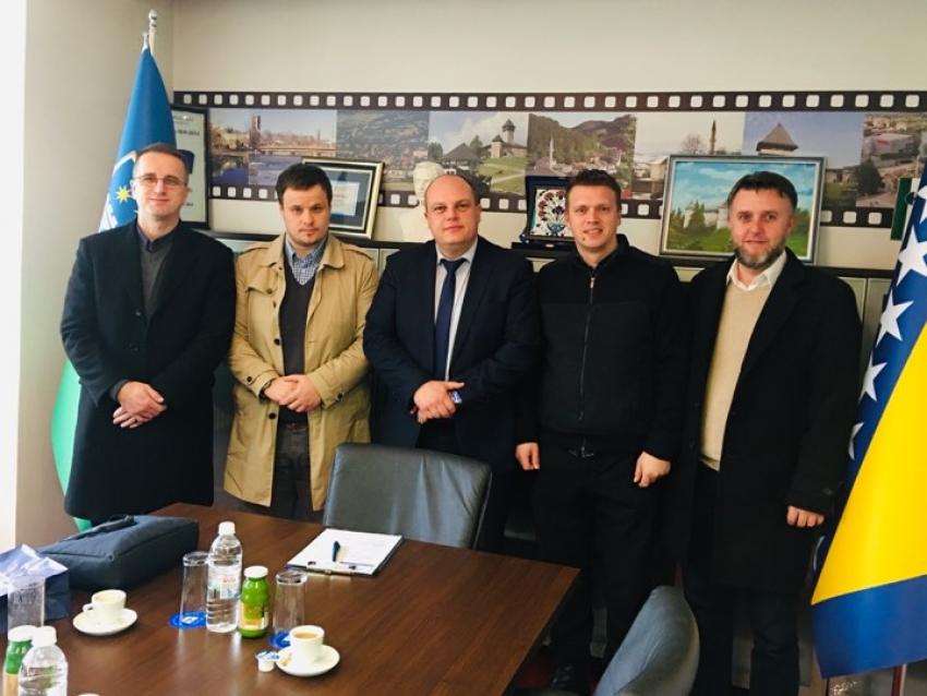 Delegacija Okružnog odbora Ilmijje Bihać kod premijera USK