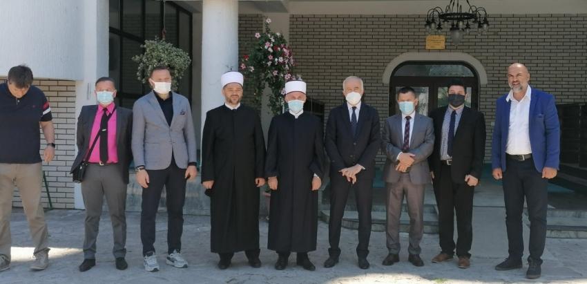 Visoka delegacija Generalne direkcije vakufa Republike Turske i Rijaseta IZ u posjeti Medžlisu IZ Sanski Most